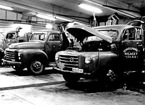 Luleå 1959. LV-verkstaden.